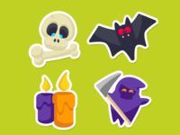 Zenly Halloween Emojis 3/3
