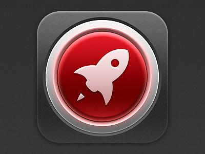 Launch Center app icon app icon icon app iphone ios notification center rocket