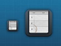 iOS Notebook icon