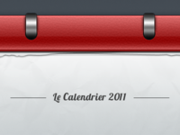 Le Calendrier 2011