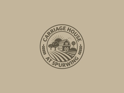 Vintage Farm House Logo Design