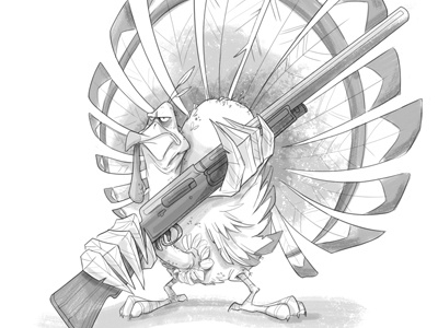 thanksgiving...are you ready? thanksgiving sketchadaytil30 turkey character design