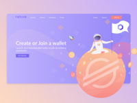 Rehive landing page concept