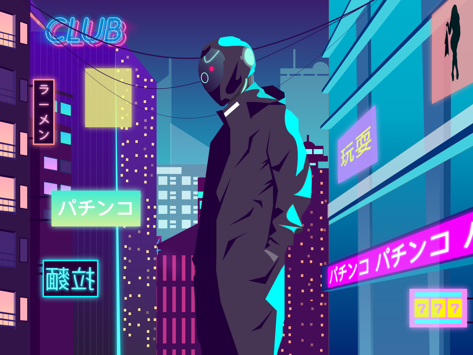 Neo Tokyo By Lee Shannon Georges On Dribbble