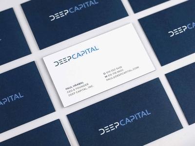 Deep Capital Business Cards