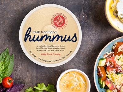Dreamland Hummus Packaging