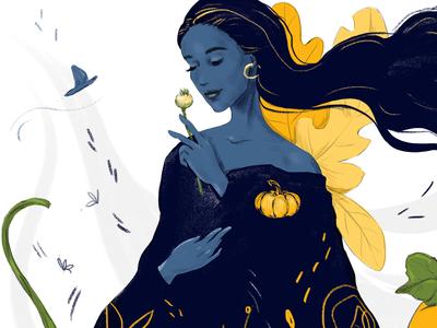 The Pumpkin Fairy_by Kateryna Lanskaya