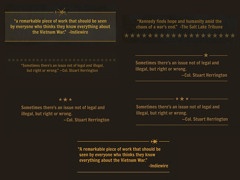 Quote treatments web design pbs typography