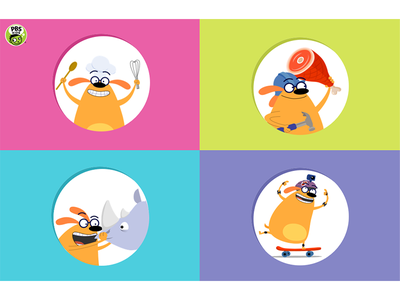Playful Learning Experience (Website) - Homepage responsive web design look and feel kids design ux ui