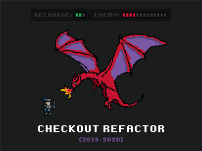 Checkout Refactor T-Shirt level internal swag game knight 8bit 8-bit medieval dragon t-shirts t-shirt refactor checkout