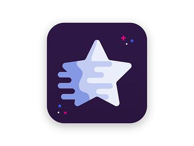 Daily UI Challenge 005 star dream application app ios icon 005 dailyui