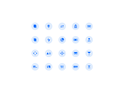 Homepage Icons