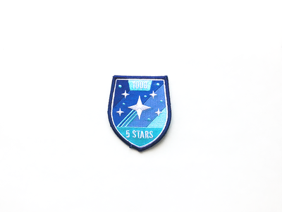 5 Star Patch star badge support success customer customers patch stars