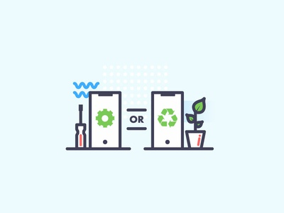 Repair & Recycle icon