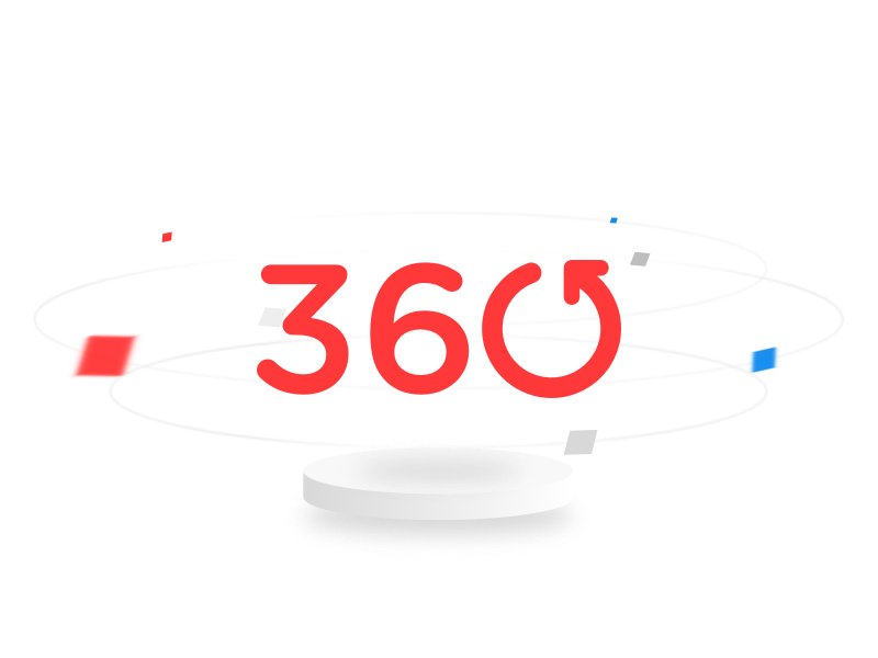 Todo Noticias 360 logo branding illustration