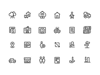 Properati icons