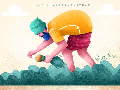 old farmer character character illustration flat 2020trending illustration character illustrations character design illustration