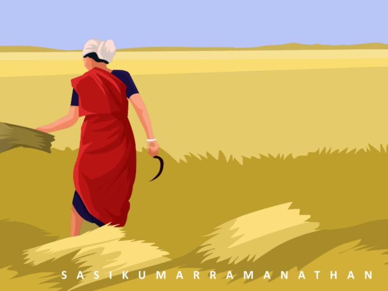 Tamil farmer women