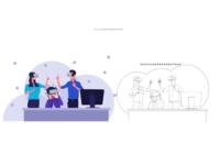 virtual reality technology illustration
