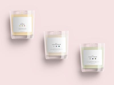 Fenasuta: organic beeswax candle