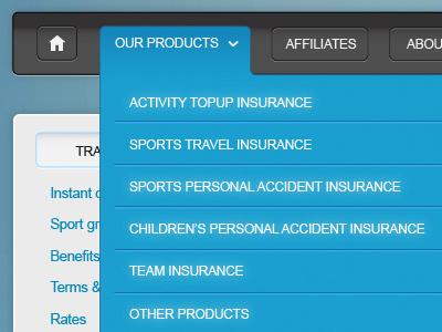 website menu website menu web
