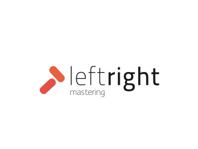 LR logo logo design audio mastering