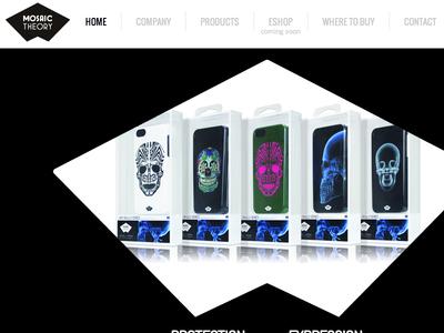 Mosaic Theory website  website design web homepage
