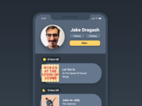 Daily UI #06 - User Profile
