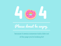 Daily UI #08 - 404 Page