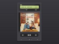 Daily UI #09 - Music Player