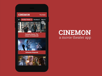 Cinemon - A Movie Theater App (Concept)