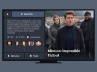 Daily UI #25 - TV App