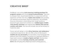 Pinkblush creative brief