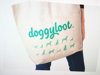 Totes focus lab branding brand strategy logotype dog dogs pet pets silhouettes totebag merchandise collateral