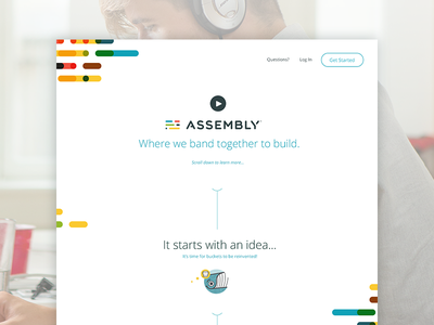 Assembling a Tagline focus lab brand strategy discovery tagline wordsmith copywriting content strategy ui web collaborative flag revolutionary