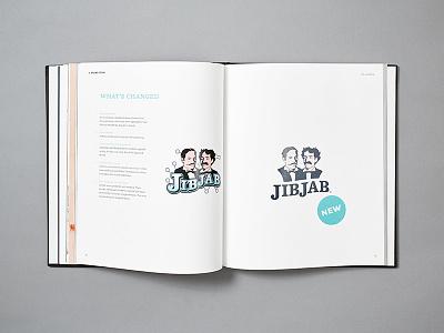 JibJab Brand Book brand refresh funny fun brand experience brand strategy editing copywriting brand book soup to nuts focus lab