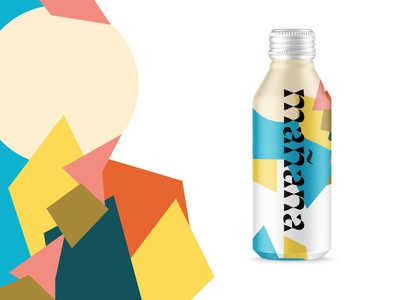 Tomorrow's water, today brand strategy canned water pattern aluminum bottle water tomorrow mañana focus lab