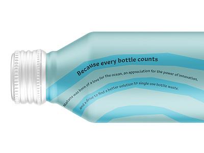 Canned water is tomorrow's water packaging marketing subcopy slogan copywriting mañana water bottled water branding focus lab