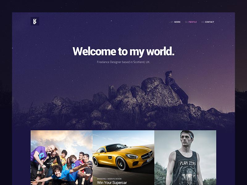 Personal Portfolio Website portfolio personal website branding design