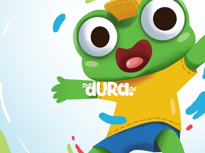 Dura the frog