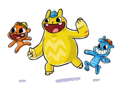The Gas Mascot Concept Design