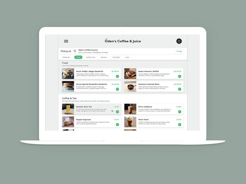 Online Ordering - White Label food order filters website ondemand food ordering app food ordering white label web app