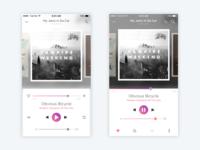 Play Screen - Music App