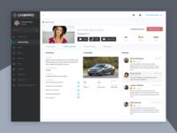 Driver Profile - Ride sharing Admin