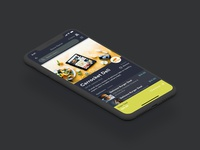 Robot Delivery App - Place order