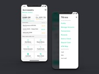 Accounts Page - Banking App