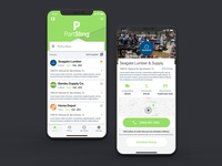 PartSling Home Screen - iOS App