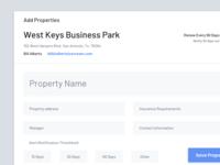 Add Property Modal