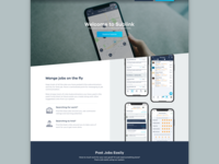Sublink Landing Page