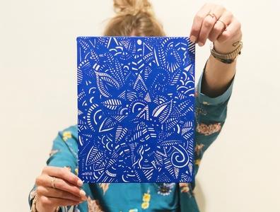 Floriane Pina │La vie en bleu